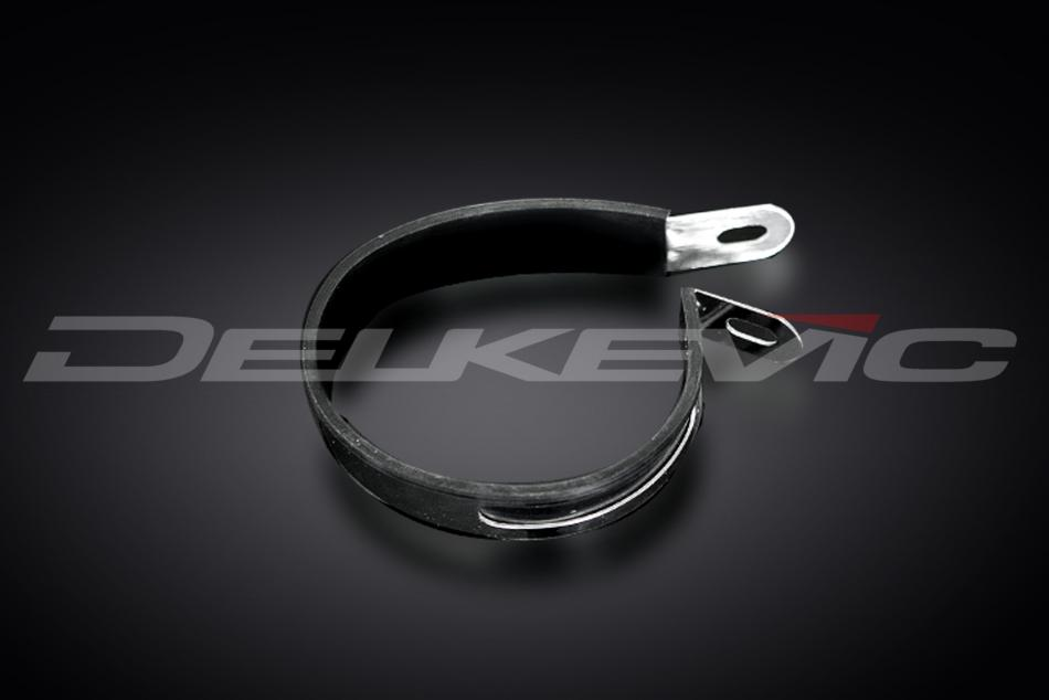 Delkevic Stainless Steel Silencer Strap and Rubber