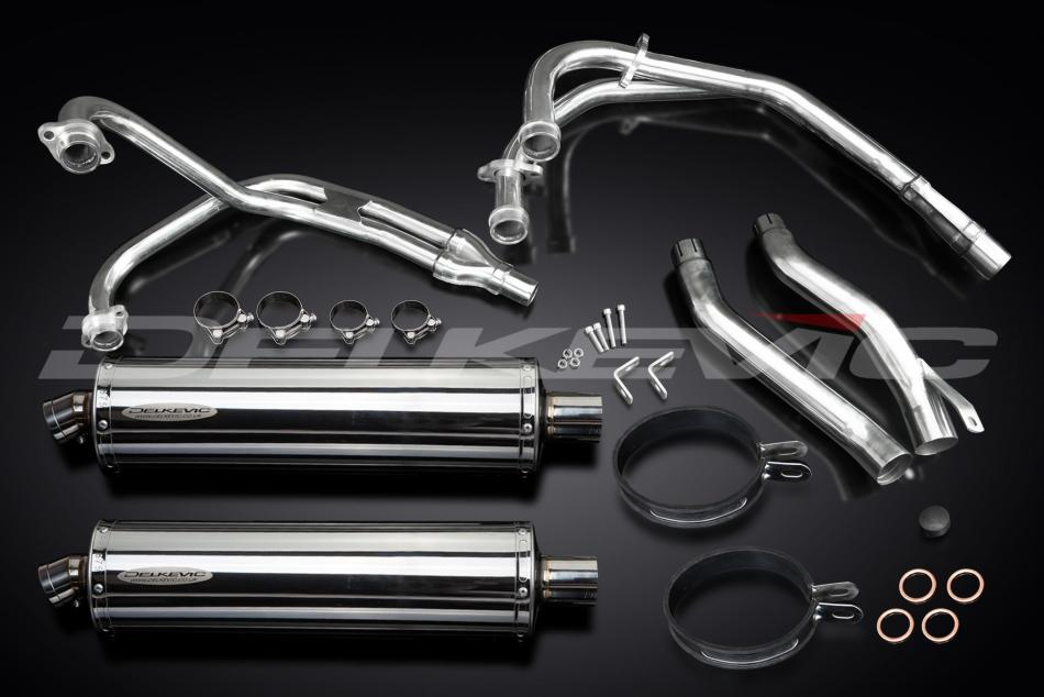 Delkevic Complete Exhaust System Yamaha XJ600N (1995-2003)