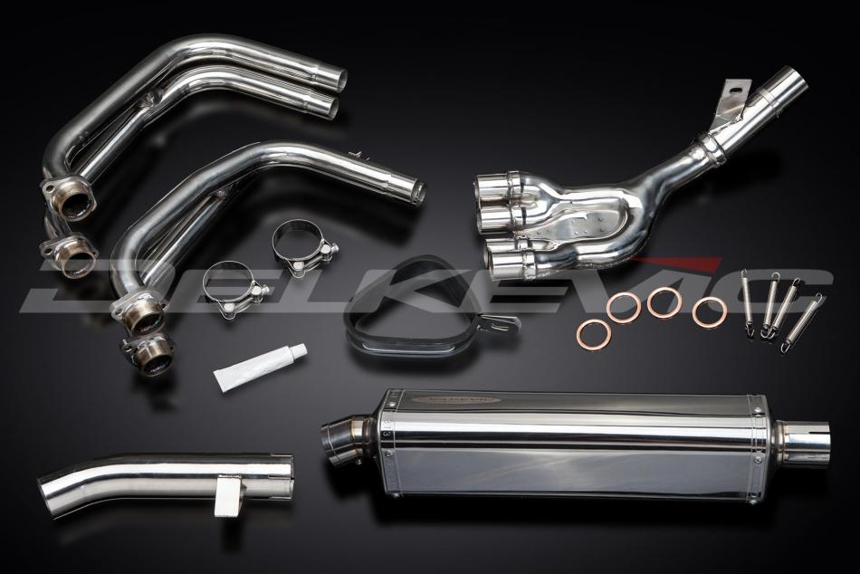 Delkevic Complete Exhaust System Yamaha FZS600 FAZER (1998-2003)