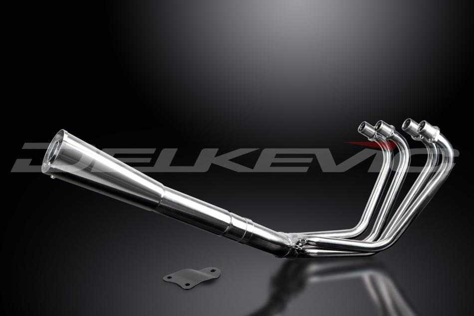 Delkevic Complete Exhaust System Kawasaki GPZ1100B1 (1981)