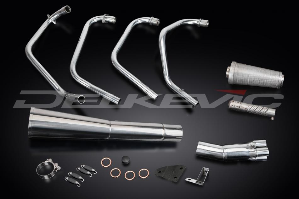 Delkevic Complete Exhaust System Honda CB550F Supersport (1975-1977)