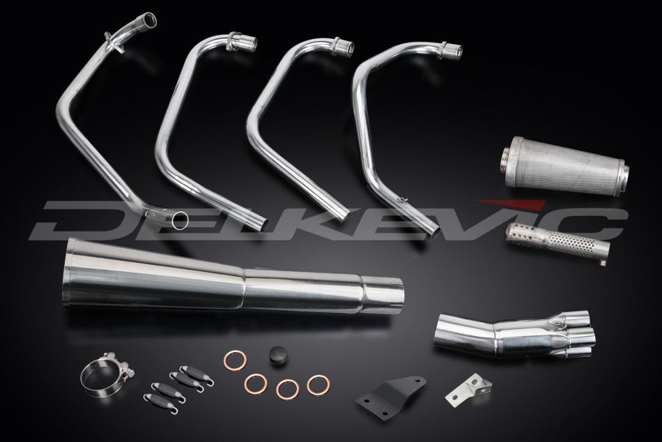 Delkevic Complete Exhaust System Honda CB550K (1977-1978)