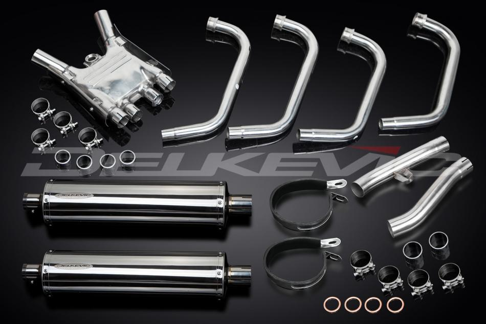 Delkevic Complete Exhaust System Yamaha FJ1200 (3XW) (1991-1996)
